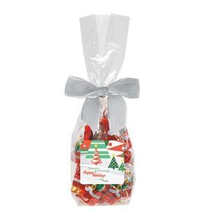 Elegant Mug Stuffer Bag / Chocolate Santas 6.5 oz