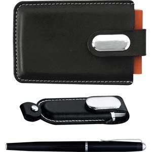 Executive USB Flash Drive Gift Set 2GB