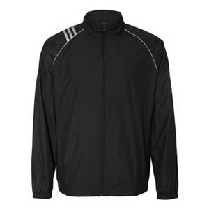 Golf ClimaProof 3-Stripes Full Zip Jacket