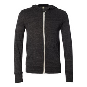 Eco-Jersey Hooded Full-Zip