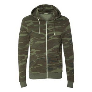 Eco-Fleece(TM) Rocky Hooded Full-Zip Sweatshirt