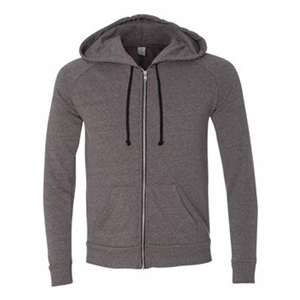 Eco Mock Twist Rocky Hooded Full-Zip Sweatshirt