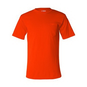 USA-Made 50/50 Short Sleeve T-Shirt with a Pocket