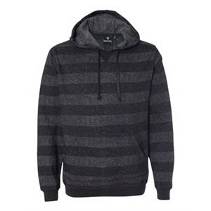 Printed Stripes Fleece Sweatshirt