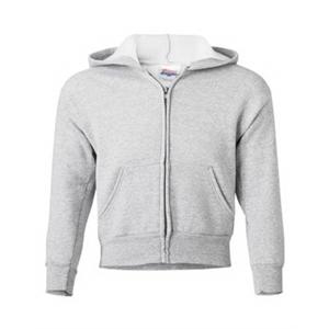 Hanes ComfortBlend® EcoSmart® Youth Full-Zip Hooded Sweat...
