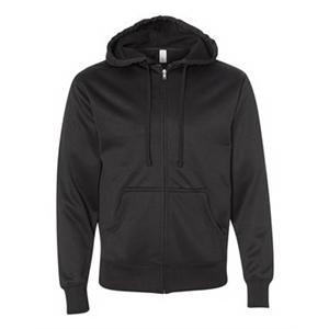 Poly-Tech Hooded Full-Zip Sweatshirt