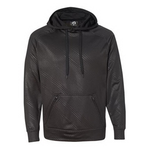 Volt Polyester Hooded Pullover Sweatshirt