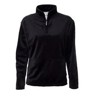 Quarter-Zip Shag Pullover