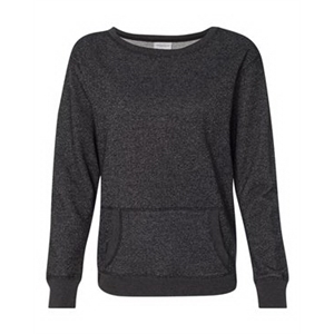 Women's Glitter French Terry Crewneck Sweatshirt