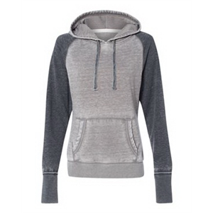 Women's Zen Fleece Raglan Hooded Pullover Sweatshirt