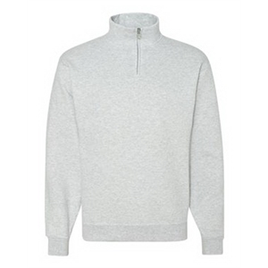 Nublend(R) Quarter-Zip Cadet Collar Sweatshirt