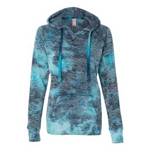 Women's Courtney Burnout V-Notch Sweatshirt