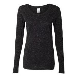 Women's Glitter Long Sleeve T-Shirt