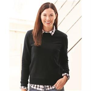 Cotton Blend Women's Crewneck Sweatshirt