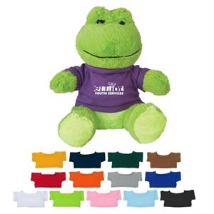 8 1/2 Plush Fantastic Frog With Shirt