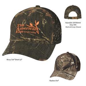 Realtree™ & Mossy Oak® Mesh Back Camouflage Cap