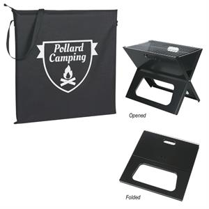 Collapsible Portable Grill With Carrying Bag
