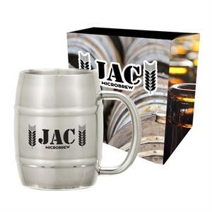 14 Oz. Moscow Mule Barrel Mug with Custom Box