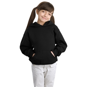 Hanes - Youth EcoSmart Pullover Hooded Sweatshirt.