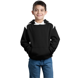Sport-Tek Youth Pullover Hooded Sweatshirt with Contrast ...