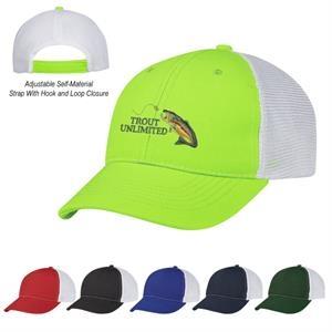 Two-Tone Mesh Cap