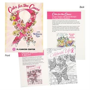 Color For The Cause - Breast Cancer Awareness Coloring Book