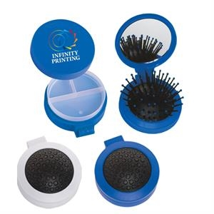 3-In-1 Brush And Pill Case Kit