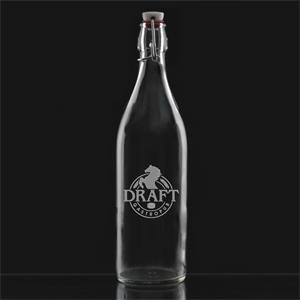 Deep Etched Large Giara Bottle
