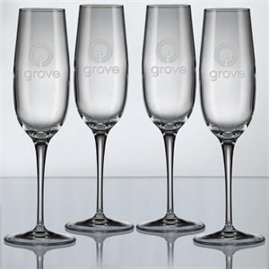 Crescendo Champagne Glass - Set of 4
