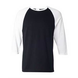Three-Quarter Sleeve Raglan Baseball T-Shirt