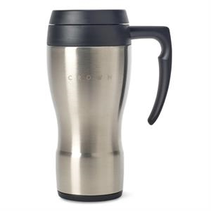 Thermocafe(TM) by Thermos Stainless Steel Travel Mug - 16 Oz