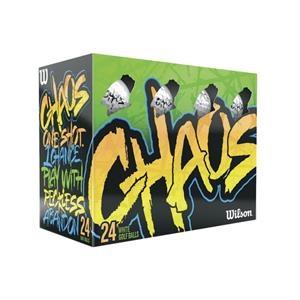 Wilson (R) Chaos (TM) 24-Ball Pack