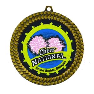 Full Color Insert Medal