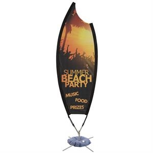 9' Claw Sail Sign Mesh Banner Kit One-Sided