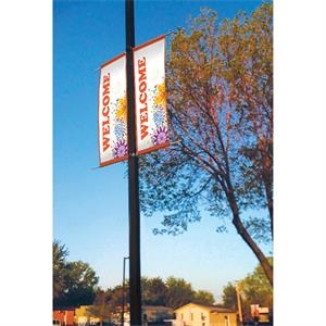 18 oz. Opaque Vinyl 2-Sided Boulevard Banner - 24