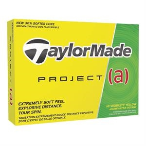 TaylorMade® Project (a) Yellow Golf Balls