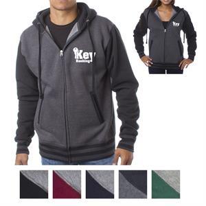 Independent Trading Company Unisex Varsity Zip Hood