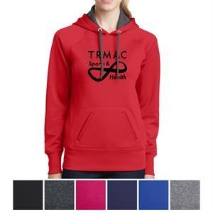 Sport-Tek Ladies' Tech Fleece Hooded Sweatshirt