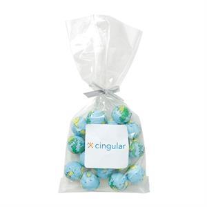 Mug Stuffer Bag / Chocolate Earth Balls (4 oz)