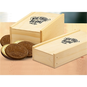 Wooden Crate with (12) Custom Cookies