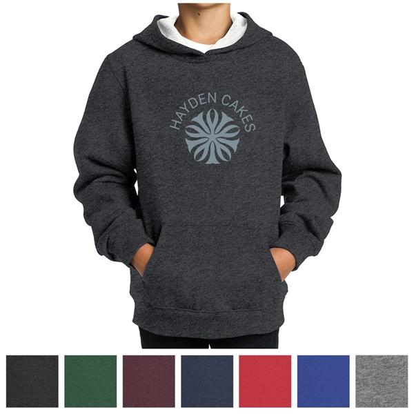 Sport-Tek Youth Pullover Hooded Sweatshirt