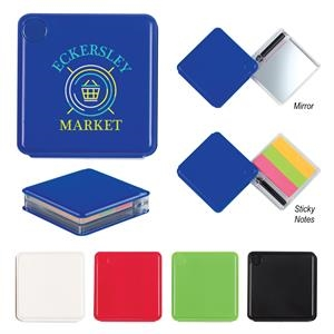 Sticky Note Case With Pen And Mirror