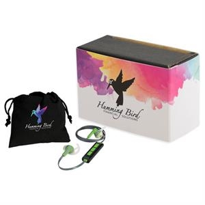 Boom Bluetooth Earbuds with Full Color Wrap