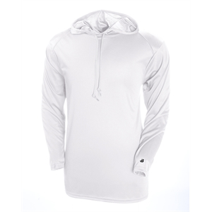 Adult B-Core Long-Sleeve Performance Hooded T-Shirt