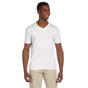 Adult Softstyle(R) 4.5 oz. V-Neck T-Shirt