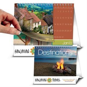 Picture Flip Calendar - Destinations