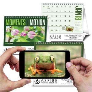 Moments in Motion Calendar with Pixaction