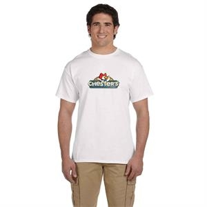 FRUIT OF THE LOOM ADULT 5 OZ. HD COTTON TM T-SHIRT 3XL-6XL