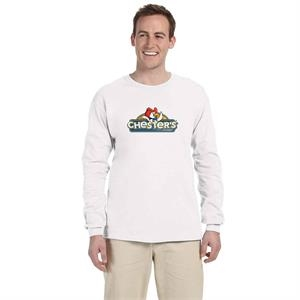 FRUIT OF THE LOOM ADULT 5 OZ. HD COTTON LONG-SLEEVE T 2XL