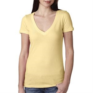 NEXT LEVEL LADIES' PERFECT DEEP V XS-XL